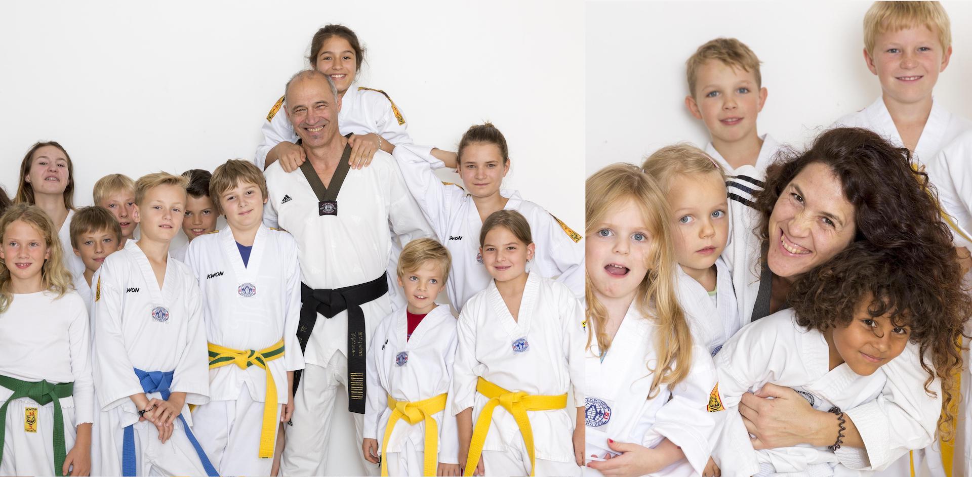 Gruppenbild Taekwondo Ammersee
