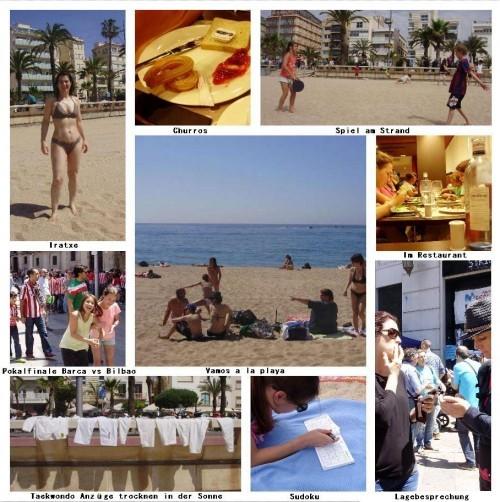 Collage Urlaub